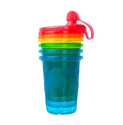 The First Years Take & Toss Spill-Proof Sippy Cups (10 Oz., 4-Pack)