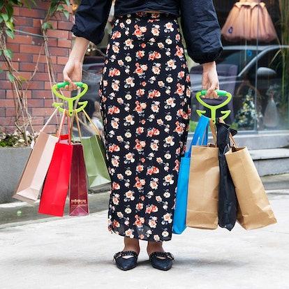 Pankia Handle Grocery Bag Holder (2-Pack)