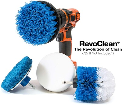RevoClean Drill Brush Set (4-Piece)