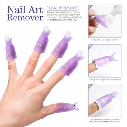 Teenitor Nail Polish Gel Remover Tools