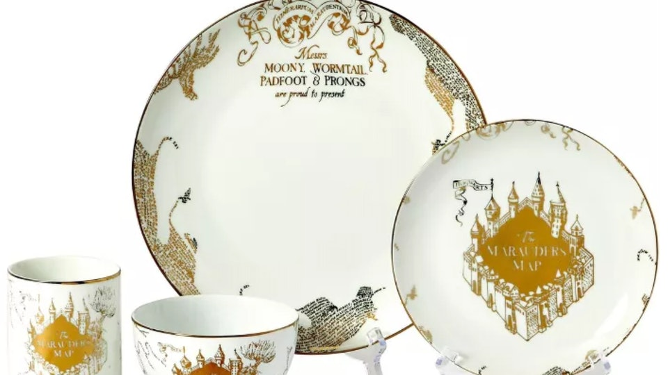 You can now purchase Harry Potter-themed dishes online at Target.com to make your magical dinnertime dreams come true.