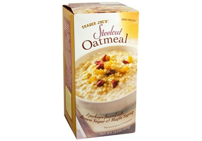 Make yourself savory oatmeal for lunch.