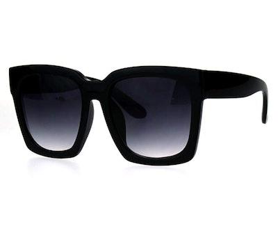 JuicyOrange Oversized Square Sunglasses