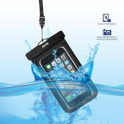 JOTO Universal Waterproof Pouch Phone Dry Bag Underwater Case