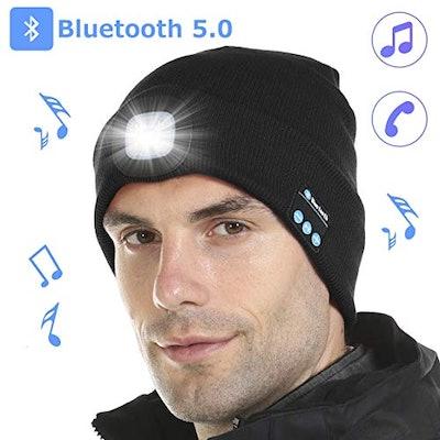 Tutuko Bluetooth 5.0 LED Beanie Hat
