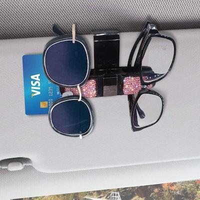 SAVORI Glasses Holder for Car Visor