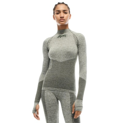 VB Seamless Textured Long Sleeve Top