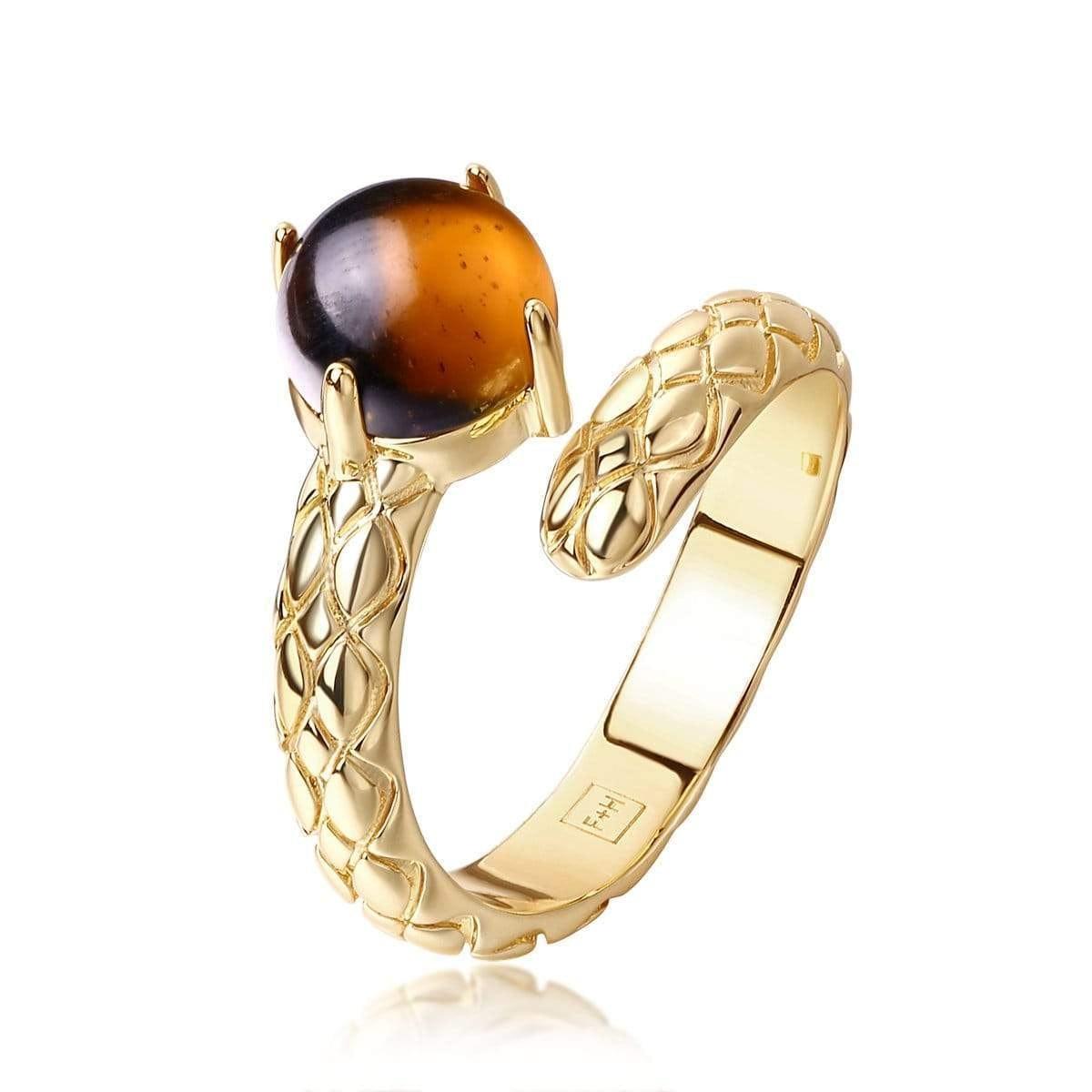 Jimi Snake Ring