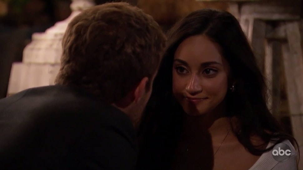Peter and Victoria F. on The Bachelor