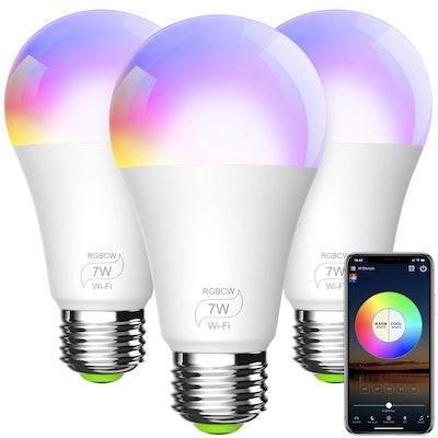 BERENNIS Smart Light Bulb (3-Pack)