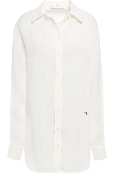 Cutout Woven Shirt