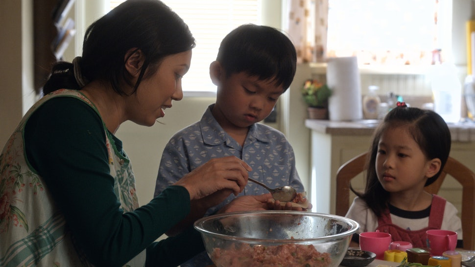 Angela Lin, Kai To and Sophia Xu in 'Little America'