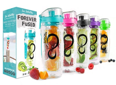 Live Infinitely Infusion Water Bottle