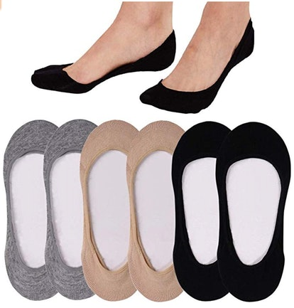 QING No-Show Socks (6-Pack)