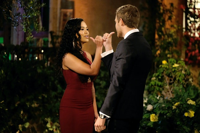 Mike Johnson addressed whether he's dating one of Peter's Bachelor contestants.