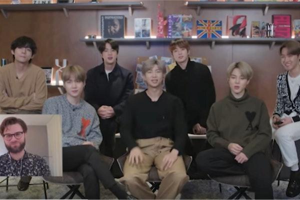 A screenshot from BTS' Connect BTS video.