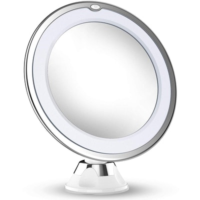 Vimdiff 10X Magnifying Makeup Mirror With Lights