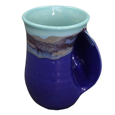 Clay in Motion Handwarmer Mug - Mystic Waters
