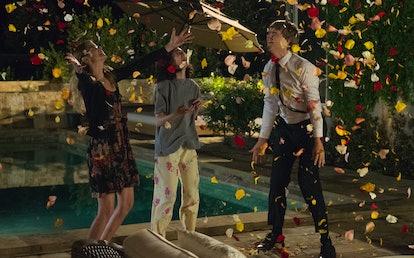 KAYLA CROMER, MAEVE PRESS, and JOSH THOMAS in 'Everything's Gonna Be Okay'