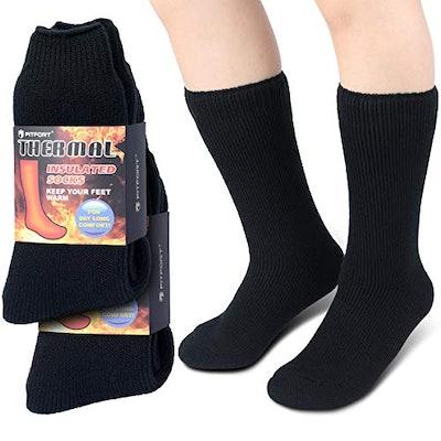 FITFORT Thermal Socks for Men Women