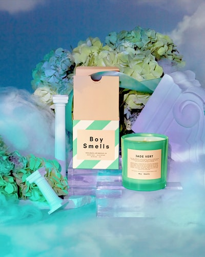 Boy Smells' new Love Collection features a scent called Jade Vert