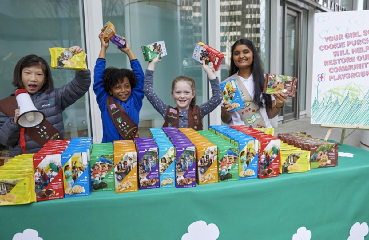 You can find Girl Scout Cookie Sales nationwide.
