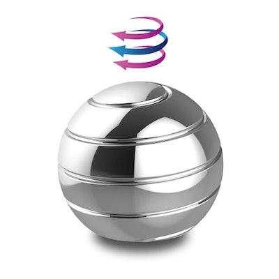 DBlosp Kinetic Desk Toys,Full Body Optical Illusion Spinner Ball