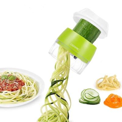 Handheld Vegetable Slicer, Adoric Vegetable Spiralizer