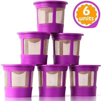 GoodCups Reusable K-Cups (6-Pack)