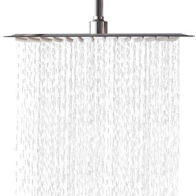 LORDEAR Square Adjustable Rain Shower Head