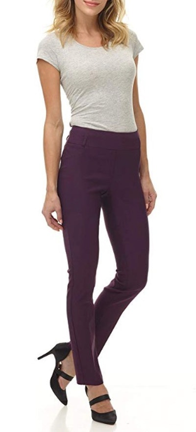 Rekucci Women's Ease Into Comfort Stretch Pant