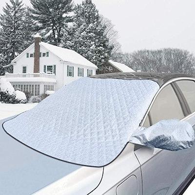 AMRNCY Car Windshield Snow Cover
