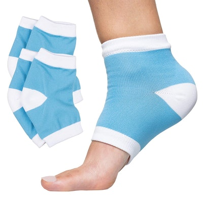 ZenToes Moisturizing Heel Socks (2 Pairs)