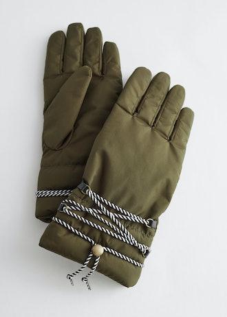 Padded Nylon Gloves