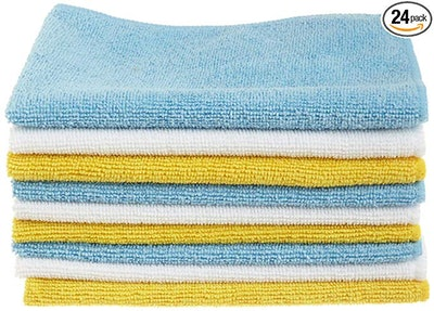 AmazonBasics Microfiber Cleaning Cloth (24 pack)