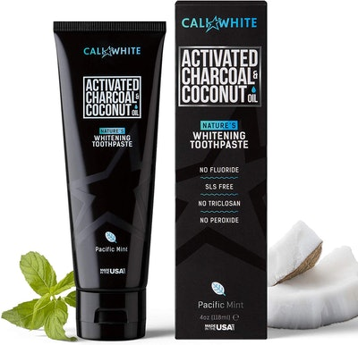 Cali White Activated Charcoal & Coconut Oil Whitening Toothpaste