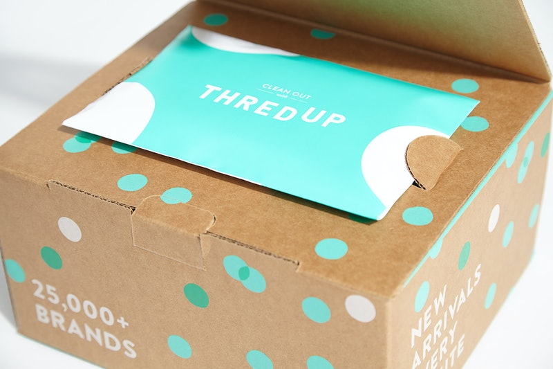 therdUP's Fashion Footprint Calculator wants to help you be more sustainable in 2020.