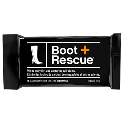 BootRescue All Natural Cleaning Wipes for Leather & Suede Shoes