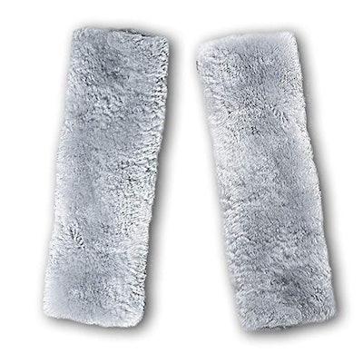 Zento Deals Soft Sheepskin Seat Belt (2 Pack)