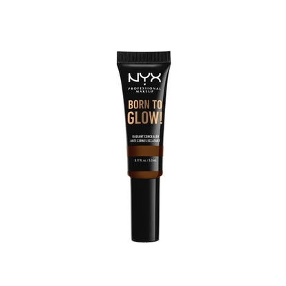 nyx professional makeup's new born to glow radiant