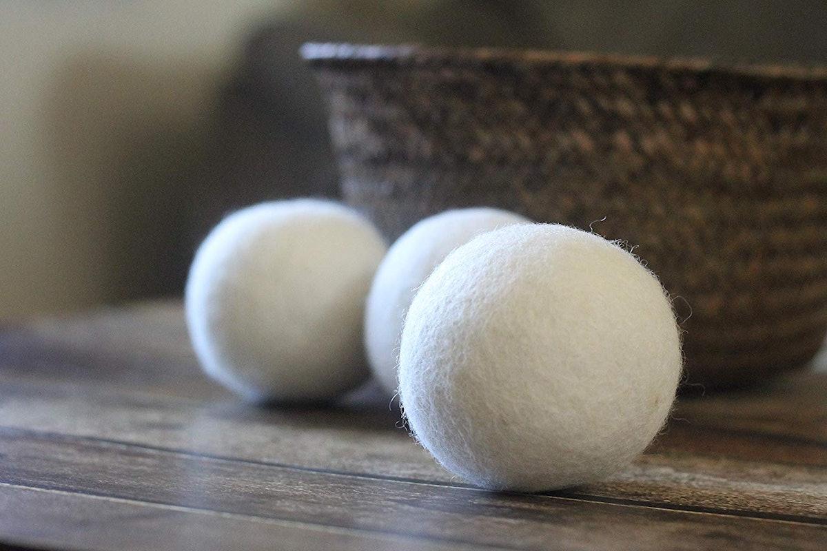 Smar Sheet Wool Dryer Balls (6-Pack)