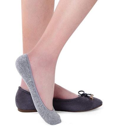 Toes Home Ultra Low-Cut No-Show Socks