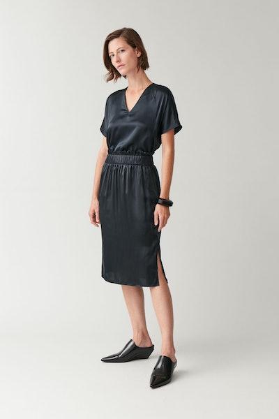 Mulberry Silk Slip Skirt