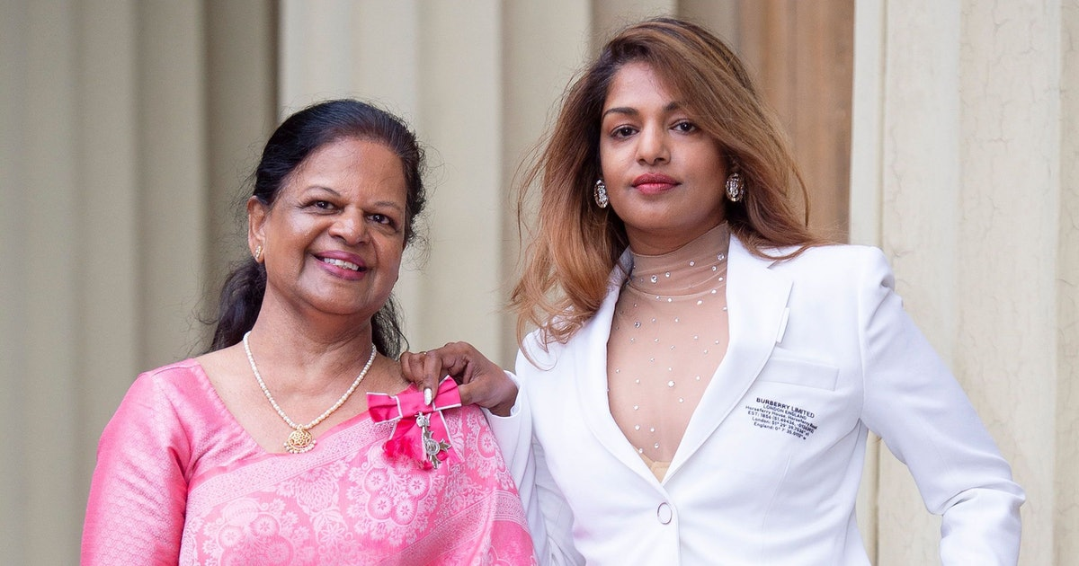 M.I.A Just Received An MBE Medal That Was Hand Made By Her Mum