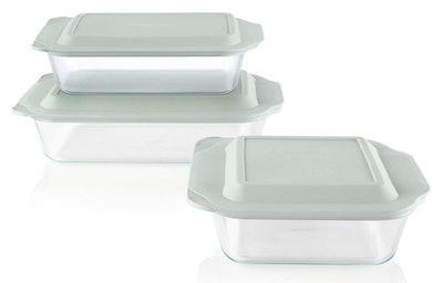 Pyrex Deep Baking Dish Set (6-Piece)