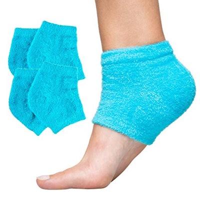 ZenToes Moisturizing Cracked Heel Repair Socks (2 Pairs)