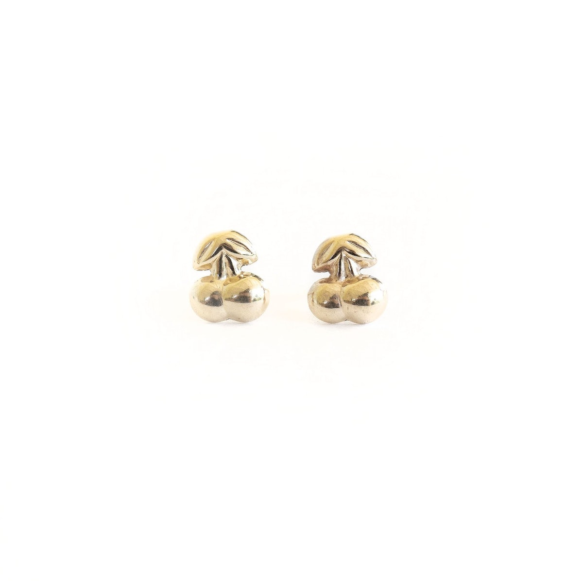 Gold Filled Cherry Studs