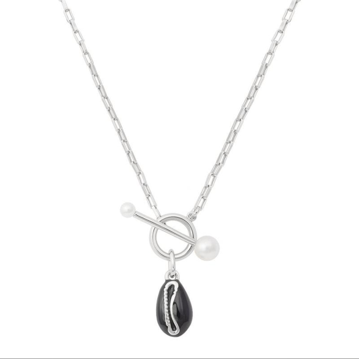 Shell Toggle Necklace
