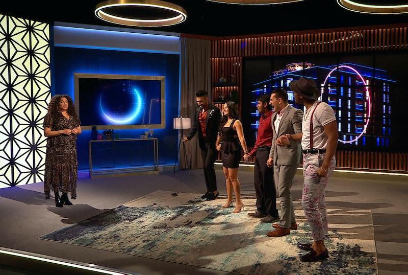Michelle Buteau, Chris Sapphire, Sammie, Shubham Goel, Joey Sasso, and Rebecca in 'The Circle' Season 1 finale