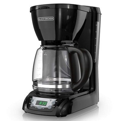 BLACK + DECKER 12-Cup Programmable Coffee Maker